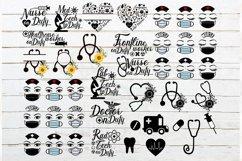 Healthcare workers bundle, nurse bundle SVG,PNG,EPS,DXF Product Image 2