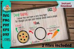 Dear Santa Placemat Product Image 2