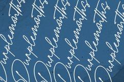 Purplemonths Signature Font Product Image 11