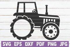 Farm Tractor Monogram Product Image 1