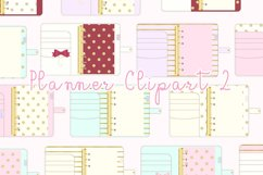 Planner Binder Clipart 2 Product Image 1