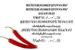 Heart Spicy Font Duo Product Image 2