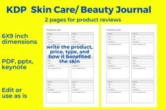 KDP Skincare, Beauty Journal Product Image 4