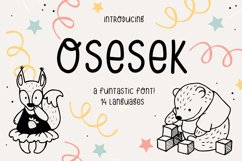 Osesek Font Product Image 1