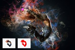 Color Smoke Photoshop Action Product Image 6