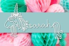Unicorns - A Unicorn Name Maker Font Product Image 4