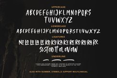 Crooked Hooks - Dry Brush Font Product Image 2