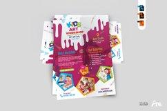 Kids Art Workshop Flyer Product Image 2