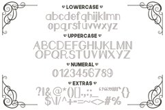 Simmer Down Lined Sans Serif Font Product Image 2