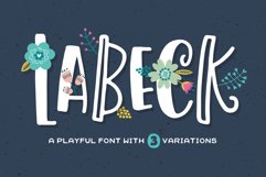 Labeck Font Product Image 1