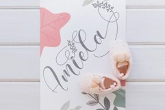 Amiela - Flower Calligraphy Product Image 7