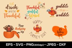 Thanksgiving Sublimation Designs, Thanksgiving SVG Designs Product Image 1