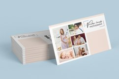 Photographer Business Card Template Product Image 3