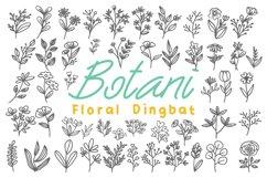 Botani - Floral Dingbats Product Image 1