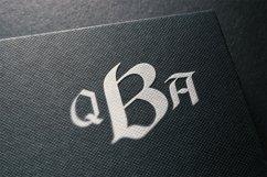 Black Monogram Creator Product Image 5