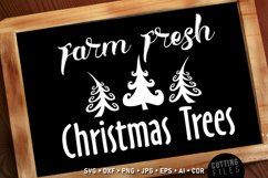 Farm Fresh Christmas Trees - Sign Product Image 1