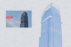 Architect Blueprint Photoshop Action Product Image 6