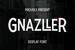 Web Font Gnazller Font Product Image 1