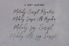 Melody SVG Script Font Product Image 2
