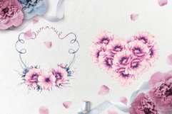 With love - watercolor romantic set Product Image 3