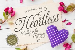 Heartless script Product Image 1