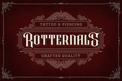 Rafiquell - Victorian Decorative Font Product Image 7