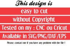 Mother's day font svg, 3 models Product Image 5