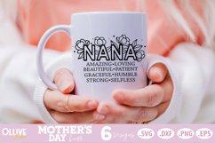 Mother's Day SVG Bundle, Mom Floral SVG Bundle Product Image 4