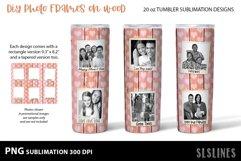 DIY Photo Frames on Wood - Tumbler Sublimation Designs 20o Product Image 5
