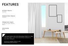Living Room Curtain Mockup Set Product Image 2