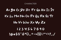 Yesto Dower Brush Font Product Image 6