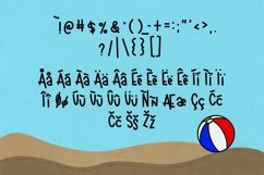 Beachball a Fun Summer Font Product Image 3