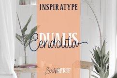 Cendolita Dualis - Script and Serif Product Image 1