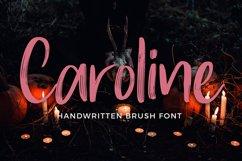 Caroline Handwritten Brush Font Product Image 1