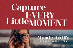 Hustle Actlife - Beautiful Serif Font Product Image 5