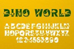 Dino World - Dinosaur Font Product Image 4