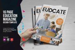 Education Magazine Brochure v1 Product Image 1
