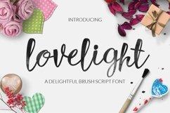 Web Font Lovelight Typeface Product Image 1