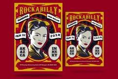 Rockabilly Concert Flyer Product Image 1