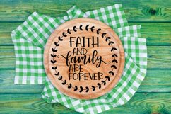 Round Sign Bundle - Round SVG Files - Farmhouse Signs Product Image 11