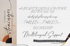 Strainger Signatures Font Product Image 2
