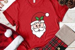 Santa Face SVG - Christmas Santa Face Cliparts Product Image 4