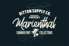 Marienthal Font Bundle Extras! Product Image 1
