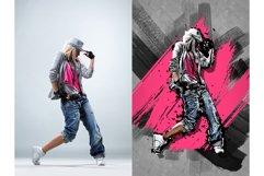 15 Wall Art Photoshop Actions Bundle Product Image 5
