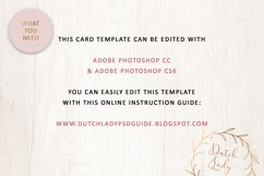 PSD Easter Photo Card Template - Single Sided - #3 Product Image 4