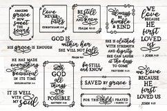 Vol 2 bible verses svg bundle, christian svg bundle quotes Product Image 1