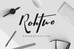 Rohtwo Typeface Signature Product Image 1