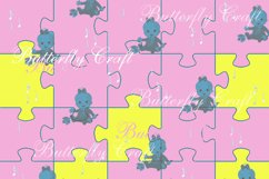 Sweet dreams digital paper, Baby shower paper Product Image 6
