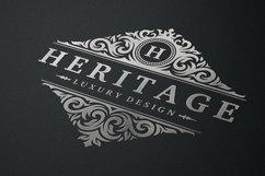 Vintage Ornament Logo Template Product Image 5