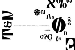 Taurian - bold and elegant display typeface Product Image 6